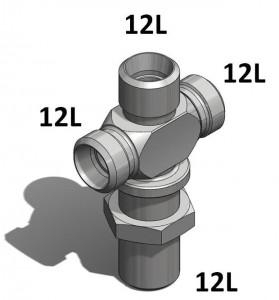 Raccord hydraulique DIN