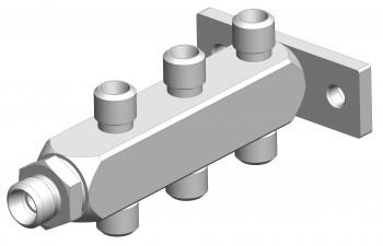 Répartiteur 7 voies DIN (3D)